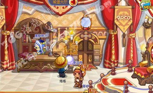 怎么使用洛克王国魔镜和电视机?